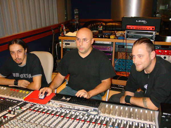 Lacuna-Coil----Recording-session
